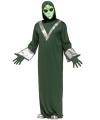 Alien verkleedoutfit groen