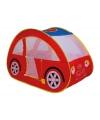 Rode auto tent voor kinderen