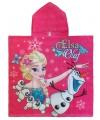 Badcape Frozen Elsa en Olaf 60 x 120
