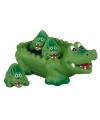 Kinder krokodil voor in bad