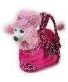 Barbie tas roze poedel 20 cm