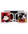 Setje melkbekers Mickey Mouse