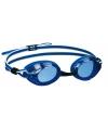 Duikbril met UV bescherming blauw/wit