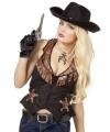Cowboy vestje voor dames