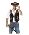 Cowboy vestje voor heren