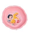 Schaaltje roze met plaatjes van Disney Princess 16 cm