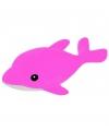 Dolfijn knuffel met piepschuim balletjes 42 cm