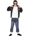 Zwarte Grease jas voor kinderen