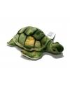 Pluche schildpadje groen 18 cm