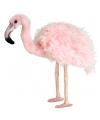 Flamingo knuffeldier 38 cm