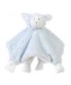 Pluche knuffel lammetje baby doekje 24 cm