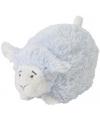 Happy Horse blauw liggend knuffel lammetje