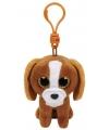 Hond/puppy Ty Beanie Tala sleutelhanger 12 cm