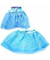IJsprinses verkleed petticoat blauw voor kinderen