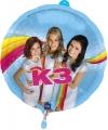 K3 heliumballonnen 45 cm