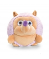 Keel Toys pluche egel knuffel lila 22 cm