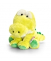 Keel Toys pluche krokodil knuffel zittend 14 cm