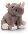 Knuffeldier neushoorn 25 cm