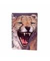 Luipaard notitieboek 3D 21cm