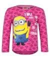 Minion t-shirt fuchsia