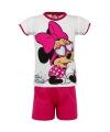 Minnie Mouse met zonnebril korte pyjama meisjes wit