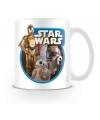 Star Wars robots koffiemok porselein