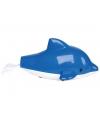 Plastic zwemmende dolfijnen