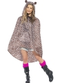 Luipaarden party poncho