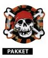 Piraten versiering pakket