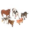 Kinderboederij dieren 6 stuks