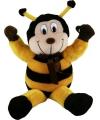 Pluche bijen knuffel 44 cm