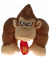 Pluche Donkey Kong knuffel 30 cm