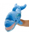 Pluche handpop dolfijn 45,75 cm