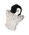 Kinder handpoppen pinguin 22 cm