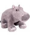 Speelgoed knuffel nijlpaard 30 cm