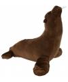 Bruin zeeleeuw knuffeltje 23 cm