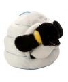 Pinguin in iglo knuffeltje 28 cm