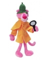 Cartoon knuffel detective Pink Panther