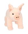 Roze varken knuffelbeest 22 cm