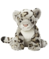 Speelgoed knuffel luipaard grijs 22 cm