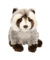 Pluche wasbeer knuffel 25 cm