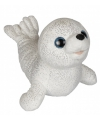 Pluche zeehond met glitters 26 cm