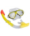 Speel snorkelset geel volwassenen