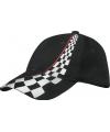 Formule-1 baseballcaps zwart