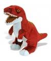 Rode T-Rex knuffel 48 cm
