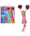 Roze K3 cheerleader pakje met pompoms