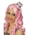 Roze mini cupcake hoedje