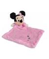 Roze Minnie Mouse knuffeldoekje
