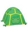 Kinder tent groene schildpad