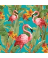 Servetten Flamingo's 3-laags 20 stuks